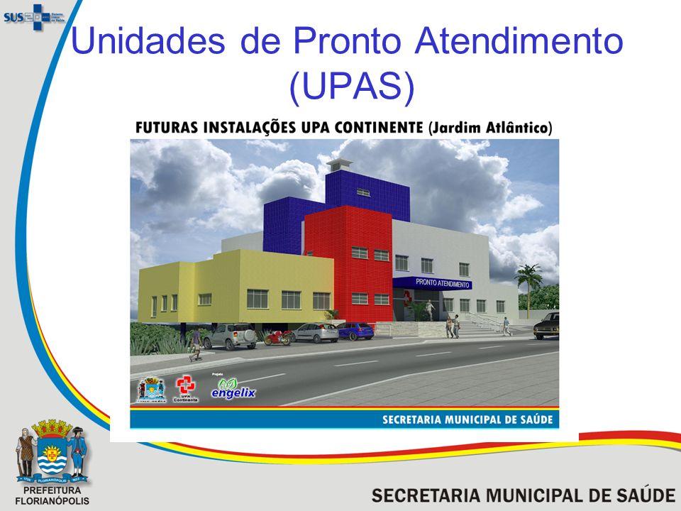 Unidades de Pronto Atendimento (UPAS)