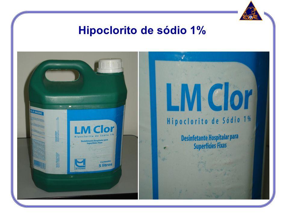 Hipoclorito de sódio 1%
