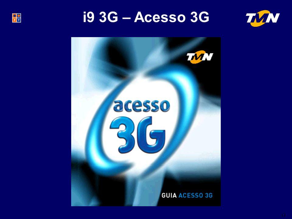 12 i9 3G – Acesso 3G