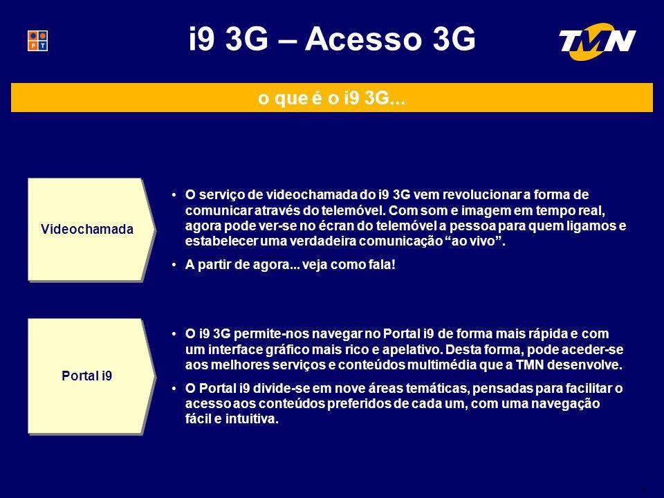 6 i9 3G – Acesso 3G o que é o i9 3G...