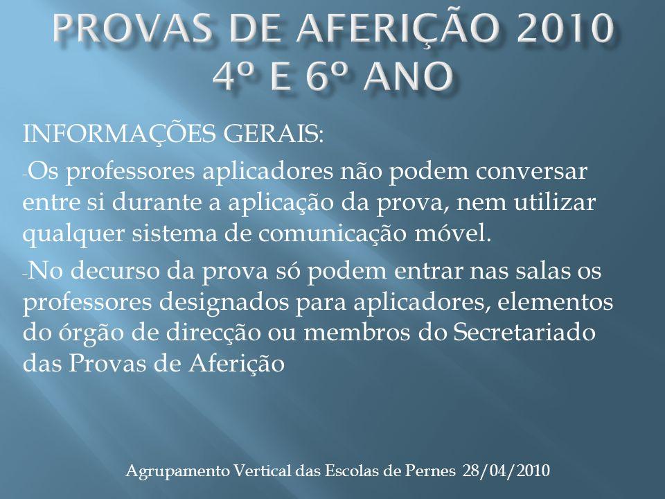 INFORMAÇÕES GERAIS: - Os professores aplicadores não podem conversar entre si durante a aplicação da prova, nem utilizar qualquer sistema de comunicação móvel.