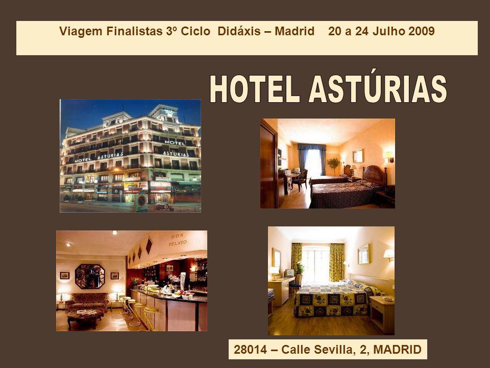 Hotel ASTÚRIAS. **
