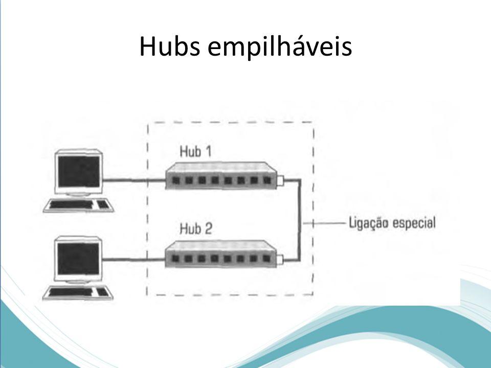 Hubs empilháveis