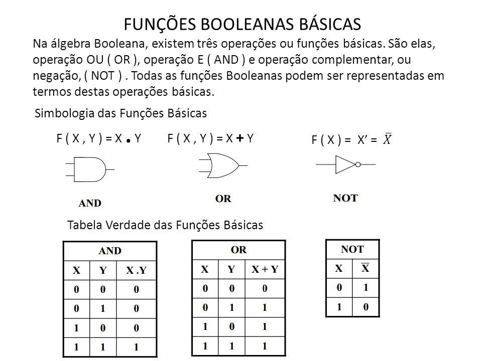 As portas lógicas são circuitos eletrônicos que operam sobre um ou mais sinais de entrada para produzirem um sinal de saída, todos binários.