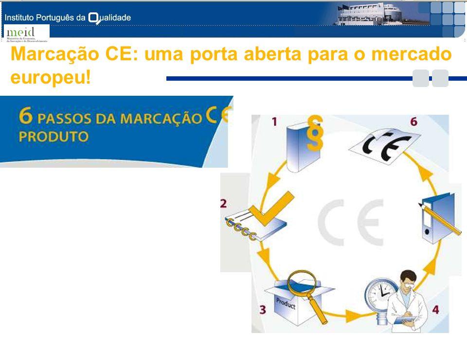 8 Marcação CE: uma porta aberta para o mercado europeu!