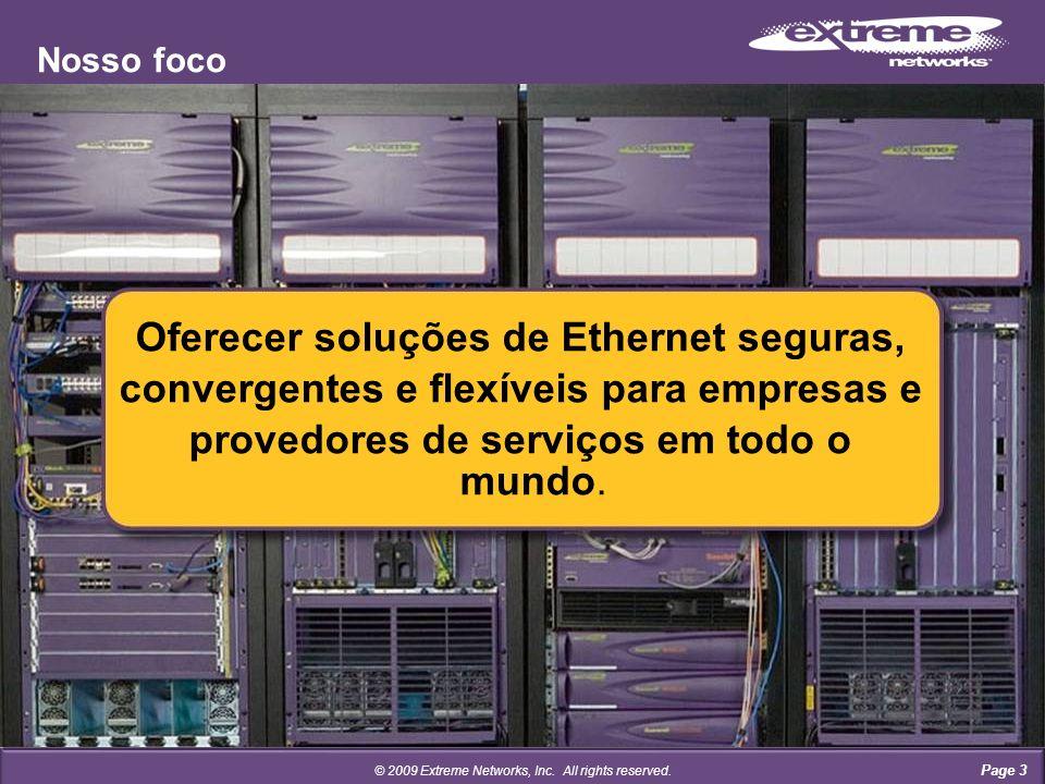 Page 14 Revenue-- ENA1 ENS- ECSP1 ECDP1 Contractmandatório Business Plan- © 2009 Extreme Networks, Inc.