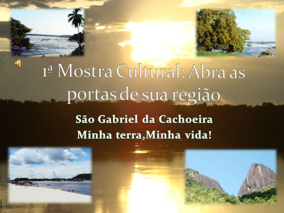 São Gabriel da Cachoeira é um município um município situado no extremo noroeste do estado brasileiro estado brasileiro do Amazonas.Aproximadamente 852 quilômetros da capital, Manaus.