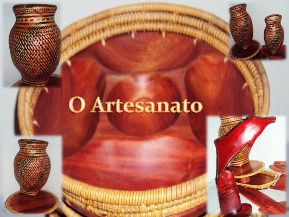 Existe uma diversidade imensa quando Se trata de artesanato,essa região possui vários povos e cada povo tem o domínio sobre alguma arte.