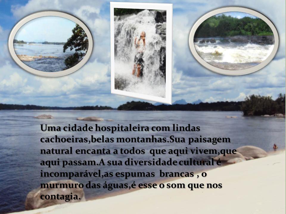 Uma cidade hospitaleira com lindas cachoeiras,belas montanhas.Sua paisagem natural encanta a todos que aqui vivem,que aqui passam.A sua diversidade cu