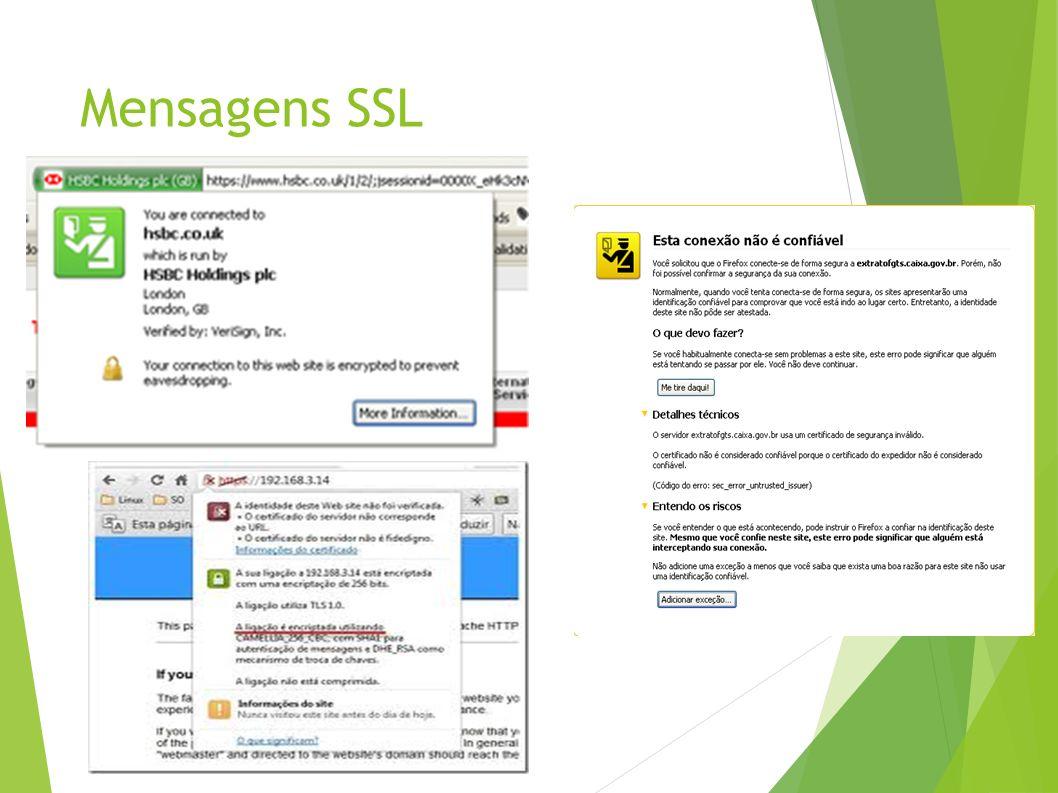 Mensagens SSL