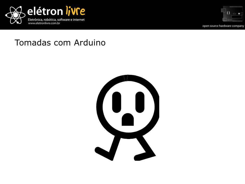 Tomadas com Arduino