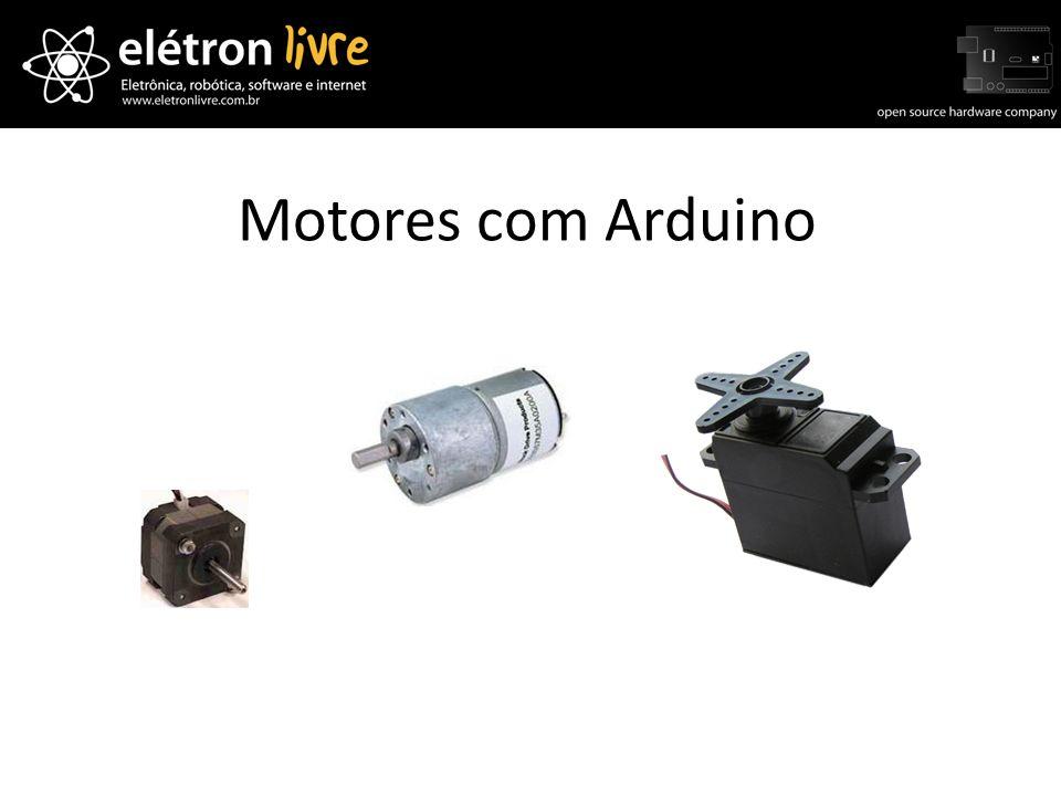 Motores com Arduino