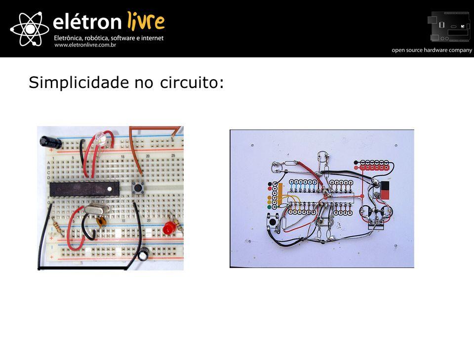Simplicidade no circuito: