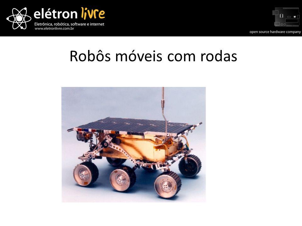 Robôs móveis com rodas