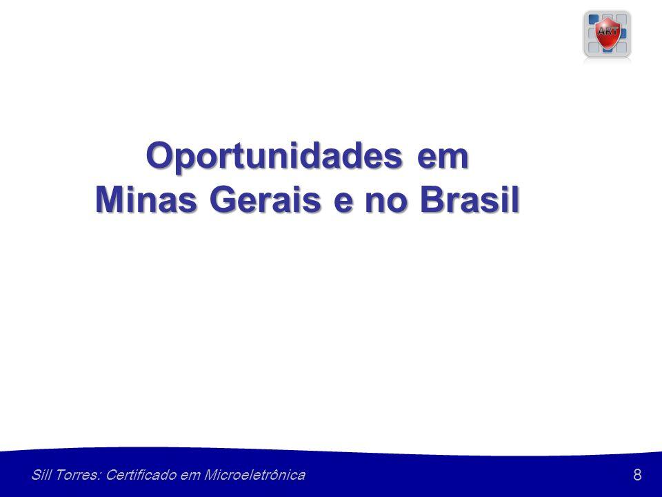 8 Sill Torres: Certificado em Microeletrônica Oportunidades em Minas Gerais e no Brasil