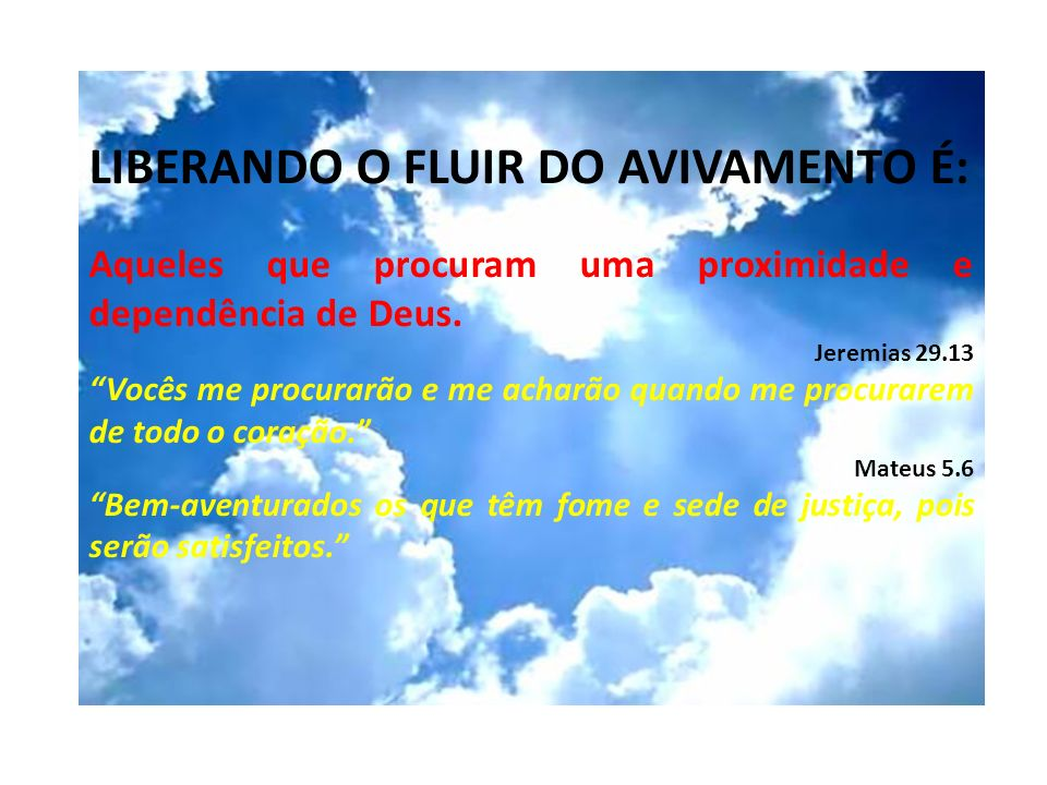 LIBERANDO O FLUIR DO AVIVAMENTO Recapitulação COMO VIVIAM OS 3.232 CRENTES NO INÍCIO DA IGREJA.
