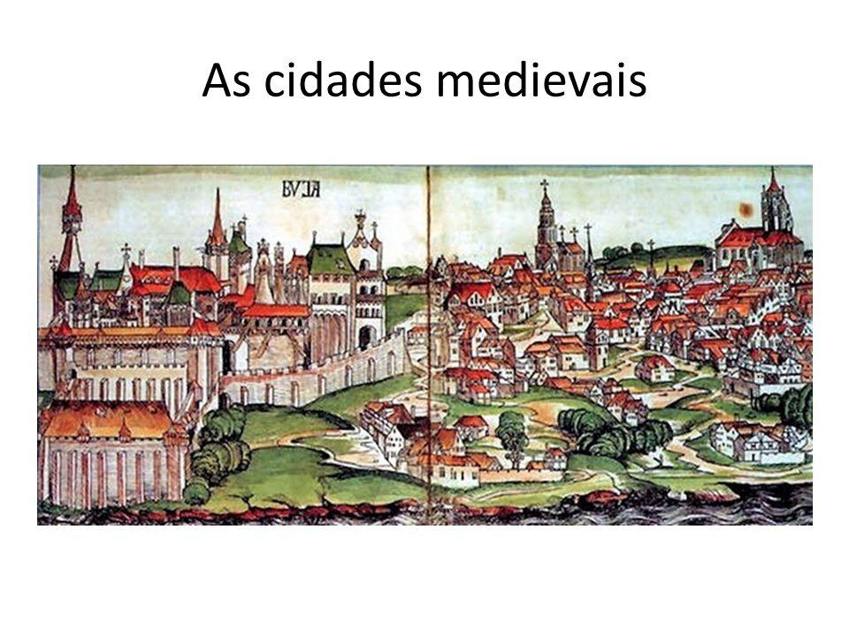 As cidades medievais