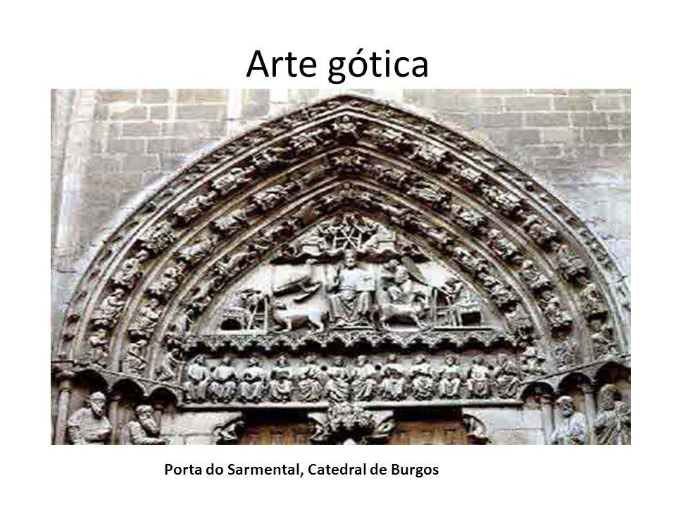 Arte gótica Porta do Sarmental, Catedral de Burgos