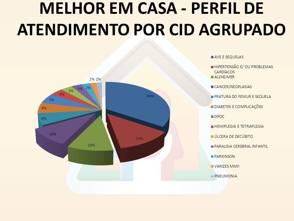 MELHOR EM CASA - PERFIL DE ATENDIMENTO POR CID AGRUPADO