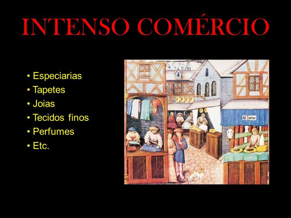 INTENSO COMÉRCIO Especiarias Tapetes Joias Tecidos finos Perfumes Etc.