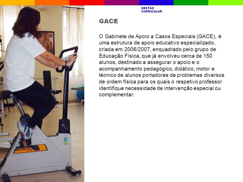 O Gabinete de Apoio a Casos Especiais (GACE), é uma estrutura de apoio educativo especializado, criada em 2006/2007, enquadrado pelo grupo de Educação