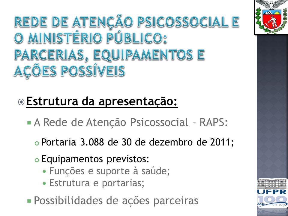 O projeto dos Centros de Convivência e Cooperativas foi iniciado experimentalmente em 1989 e foi oficializado no início de 1990 por portaria intersecretarial SMS-SP Até o final de 1992, 18 CECCOs estavam em funcionamento na cidade de São Paulo