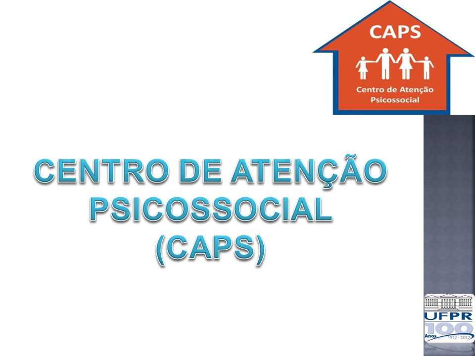 Descrição Os CAPS são instituições especializadas destinadas a: Acolher, estimular a inclusão social e proporcionar acompanhamento clínico a usuários com transtornos mentais; Um dos principais equipamentos da RAPS Portaria Portaria 3.088 de 30 de dezembro de 2011 Portaria 3.089 de 30 de dezembro de 2011 Portaria 336 de 19 de fevereiro de 2002 Portaria 130 de 26 de janeiro de 2012