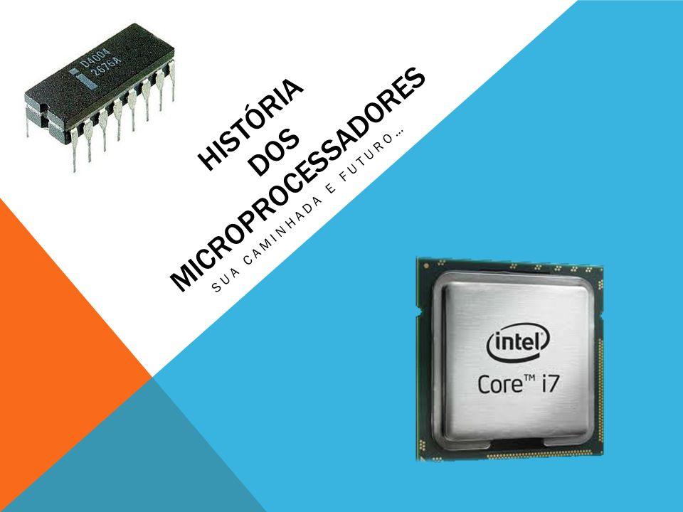 O que é um microprocessador O microprocessador, popularmente chamado de processador, é um circuito integrado que realiza as funções de cálculo e tomada de decisão de um computador.