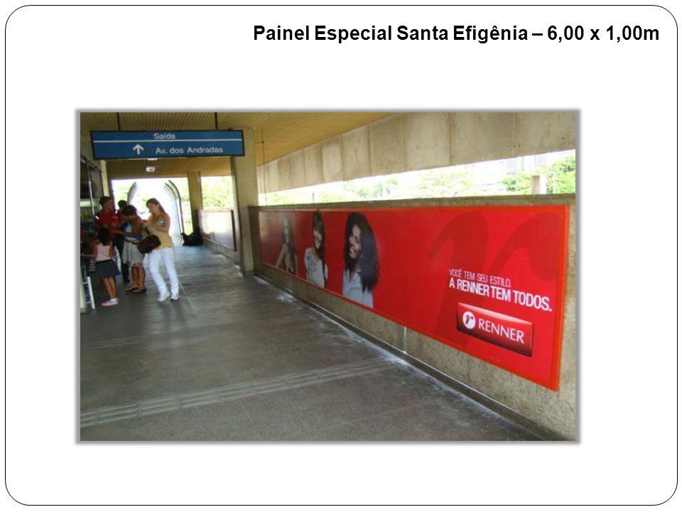 Painel Especial Santa Efigênia – 6,00 x 1,00m