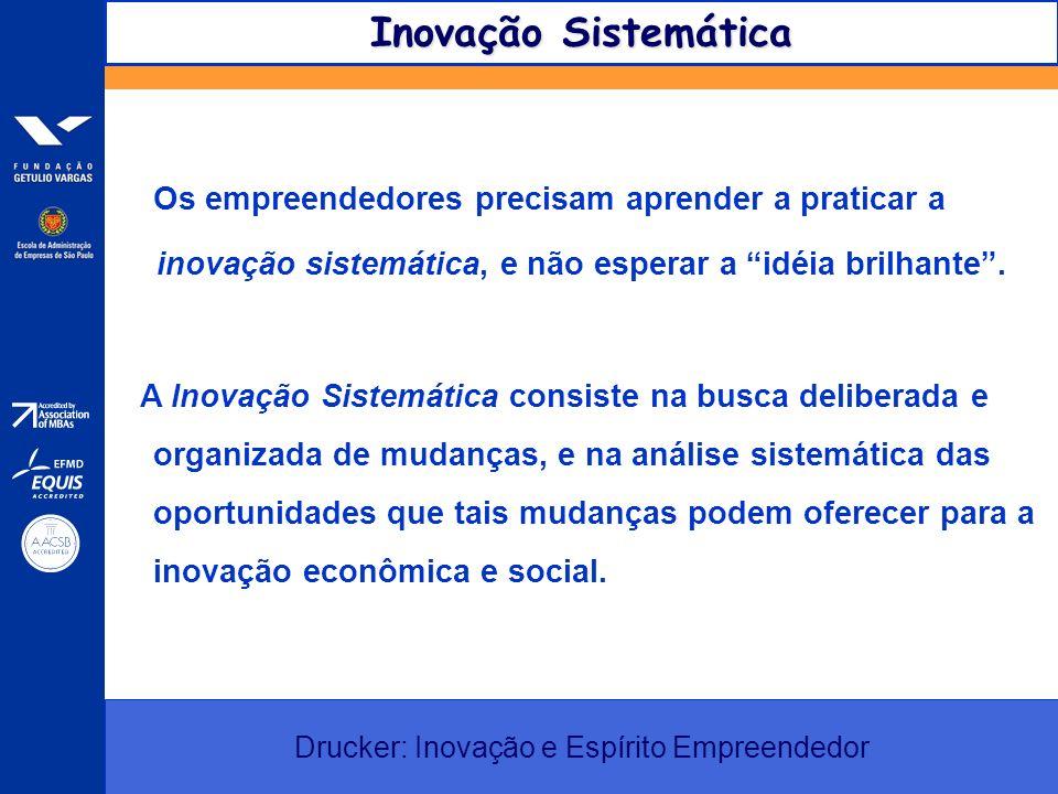 É a que pratica a Inovação Sistemática.