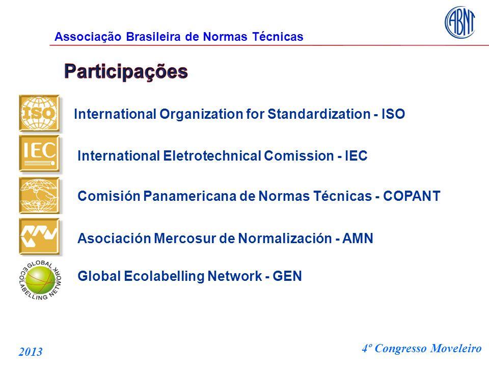 International Organization for Standardization - ISO International Eletrotechnical Comission - IEC Comisión Panamericana de Normas Técnicas - COPANT A