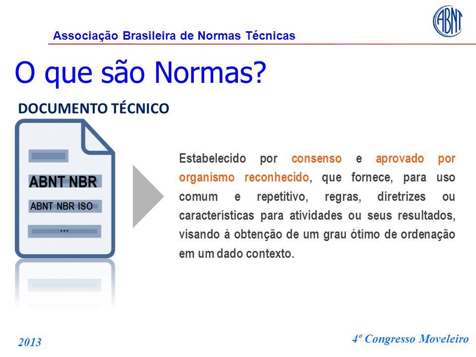 ABNT NBR DOCUMENTO TÉCNICO Estabelecido por consenso e aprovado por organismo reconhecido, que fornece, para uso comum e repetitivo, regras, diretrize