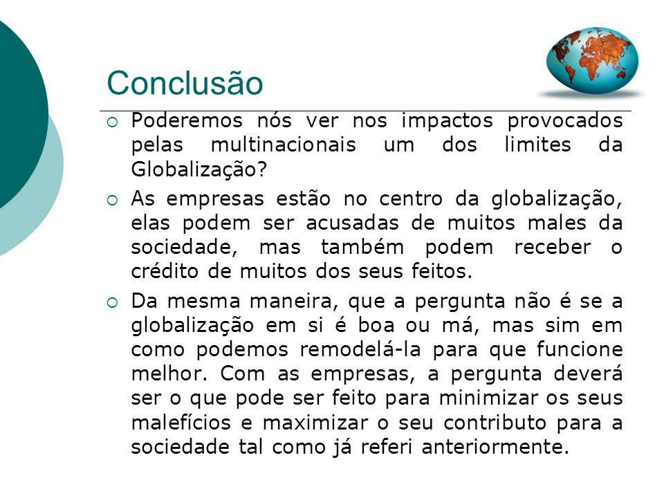 58 A Globalização…
