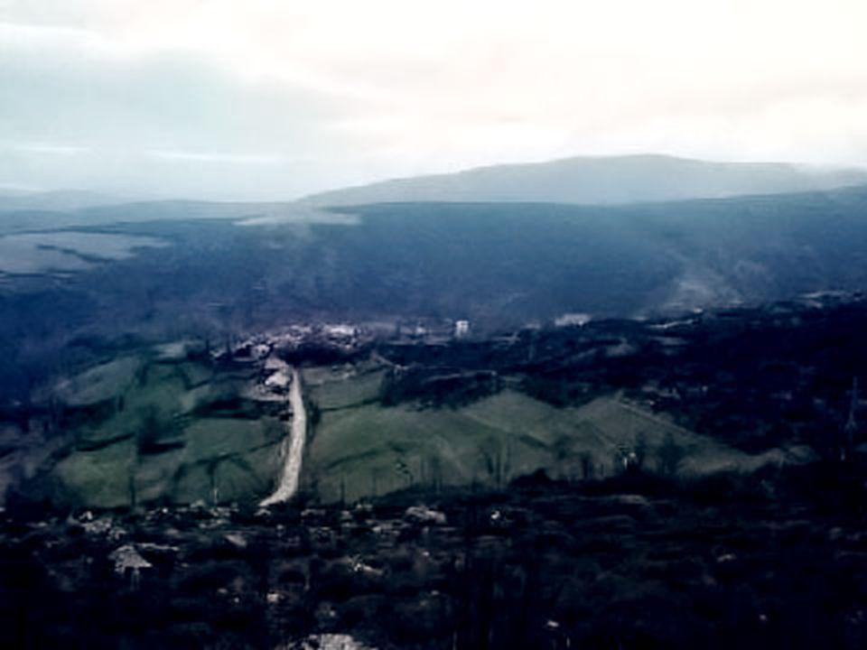 Serra do Norte de Portugal.