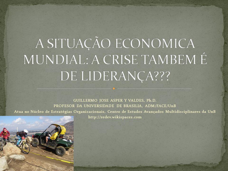 GUILLERMO JOSE ASPER Y VALDES, Ph.D. PROFESOR DA UNIVERSIDADE DE BRASILIA, ADM/FACE/UnB Atua no Núcleo de Estratégias Organizacionais, Centro de Estud