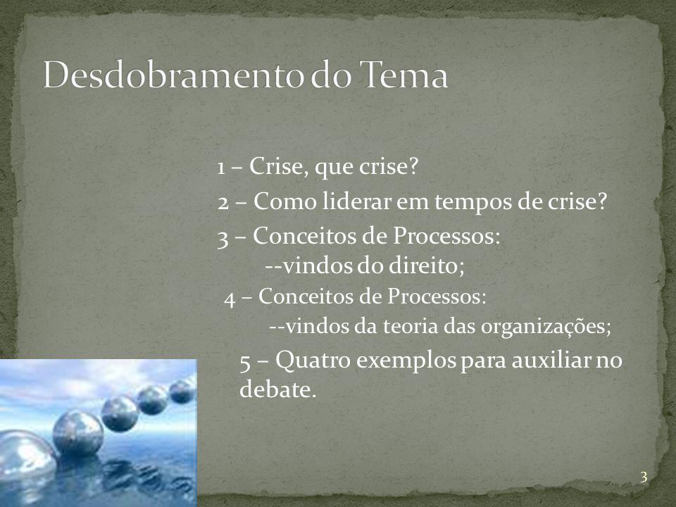 O que dizem os líderes do governo brasileiro sobre a crise….
