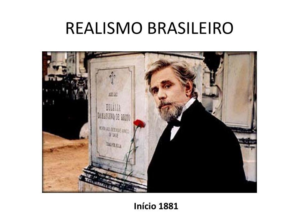 REALISMO BRASILEIRO Início 1881