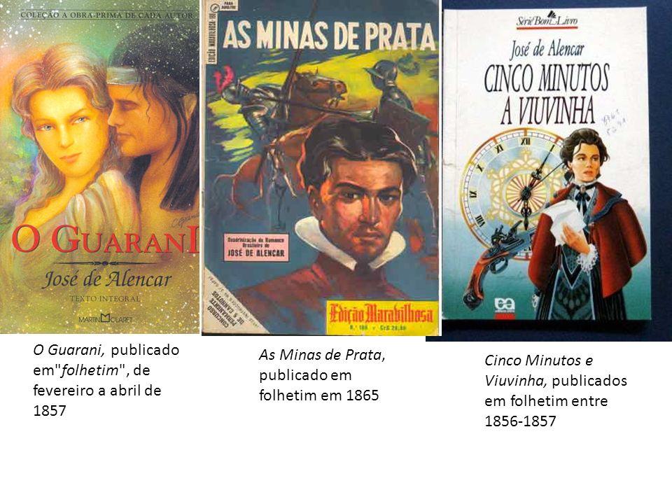 O Guarani, publicado em