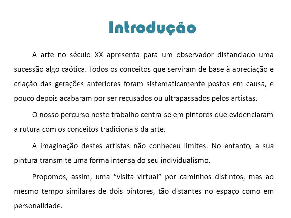 Amadeo de Souza-Cardoso (Carregue numa das imagens para prosseguir com a apresentação)