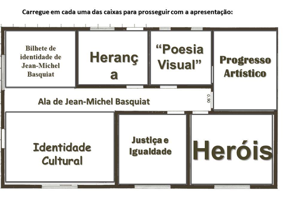 Progresso Artístico Progresso Artístico Progresso Artístico Progresso Artístico Ala de Jean-Michel Basquiat Bilhete de identidade de Jean-Michel Basqu