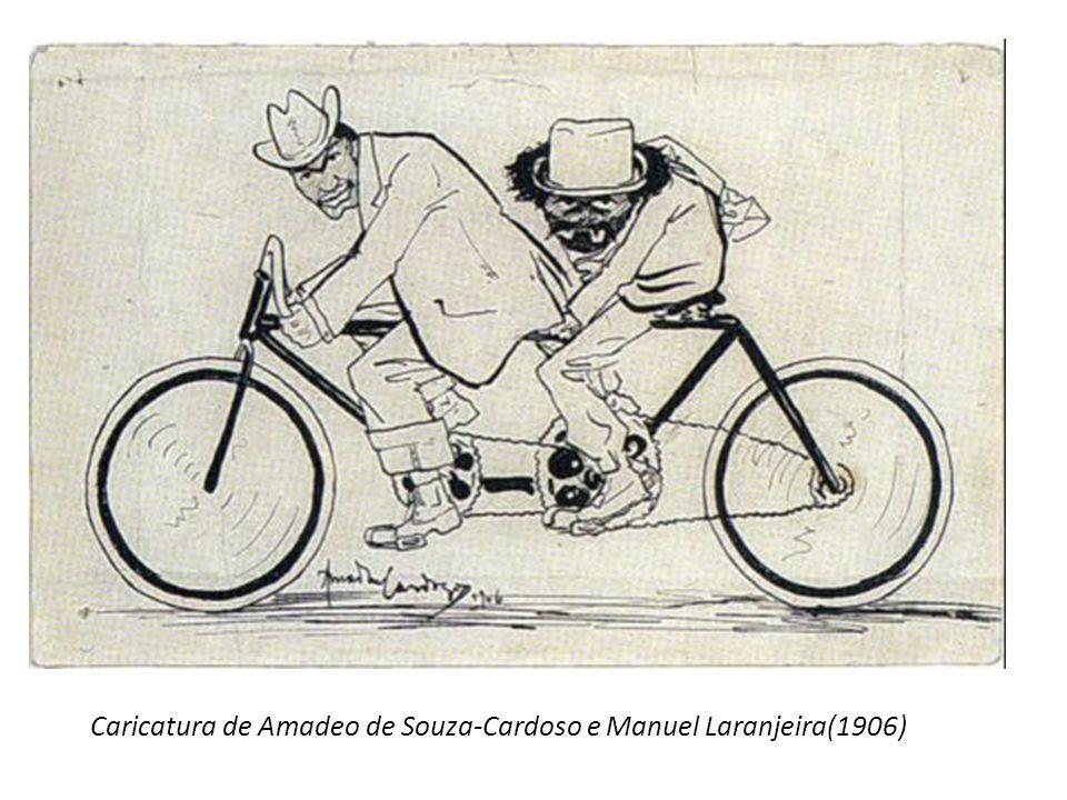 Caricaturas de Emmérico Nunes(1909/1910)