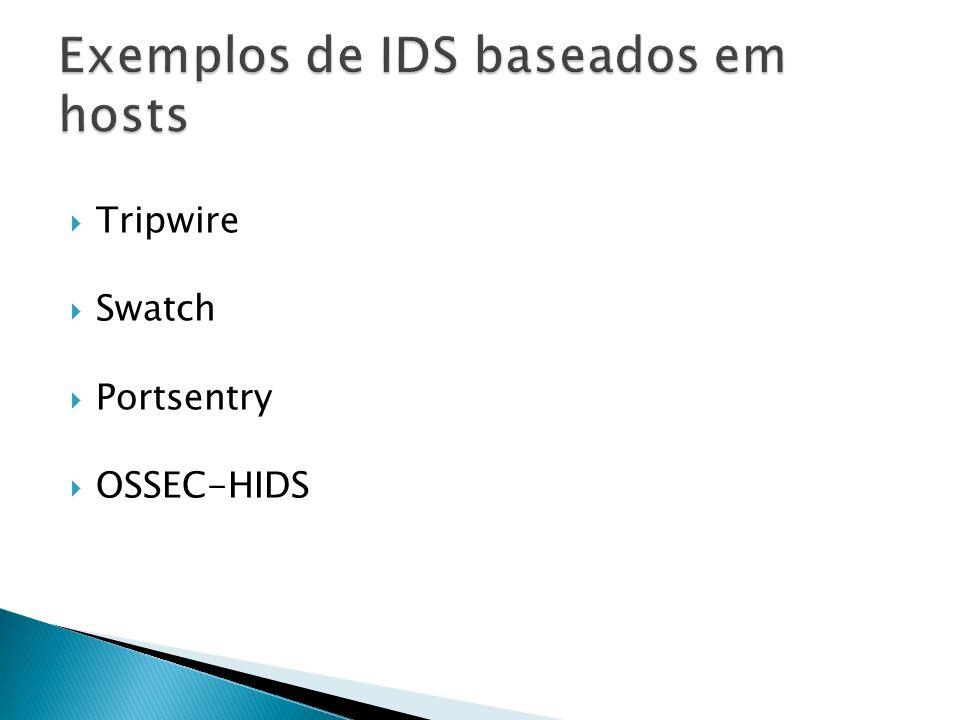 Tripwire Swatch Portsentry OSSEC-HIDS