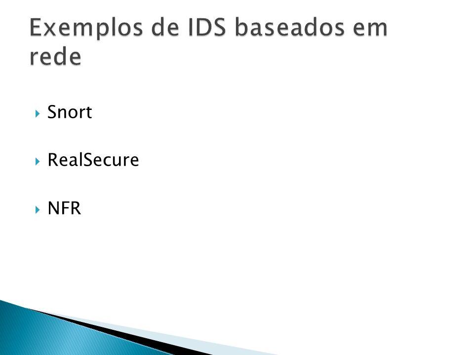 Snort RealSecure NFR