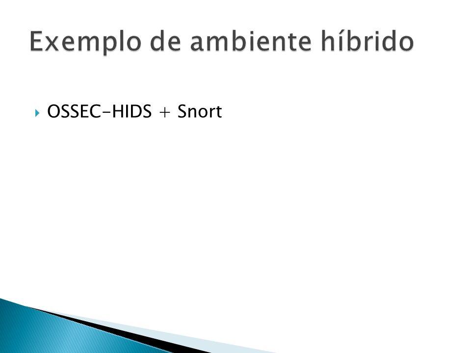 OSSEC-HIDS + Snort