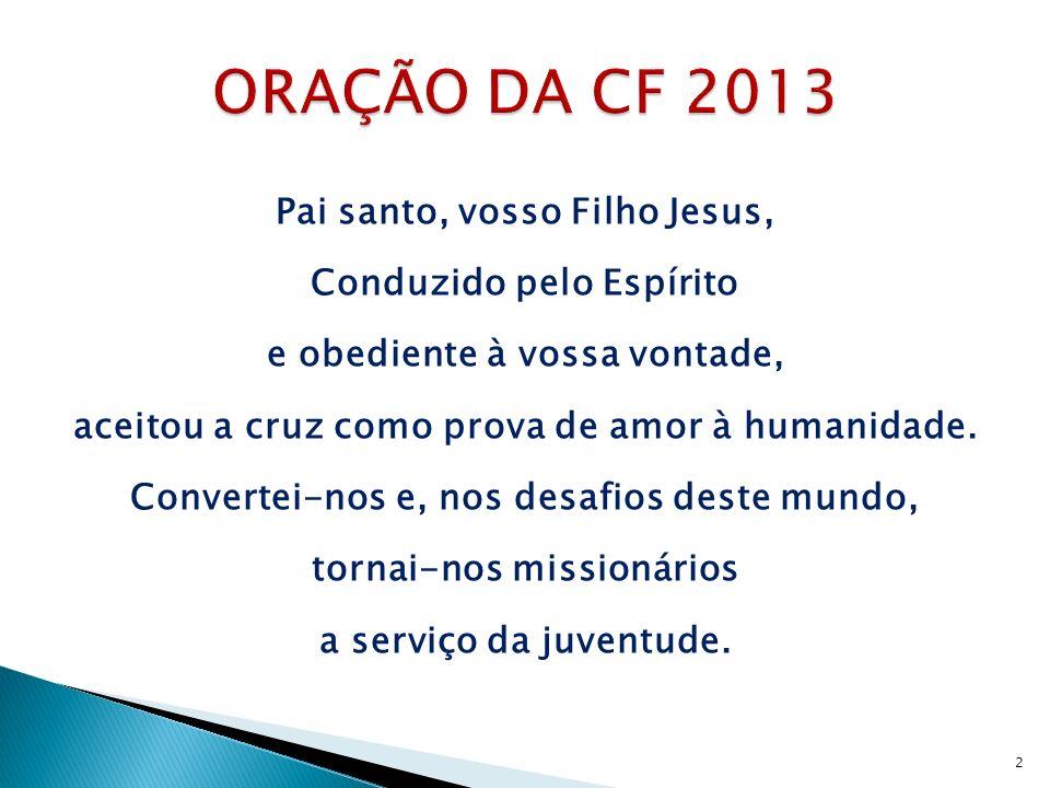 1 – Quem devemos envolver na preparação, realização e avaliação da CF 2013 em nossas dioceses e paróquias.