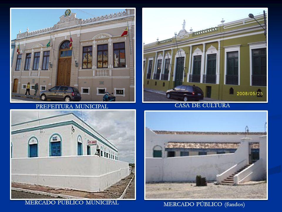PREFEITURA MUNICIPAL CASA DE CULTURA MERCADO PÚBLICO MUNICIPAL MERCADO PÚBLICO (fundos)
