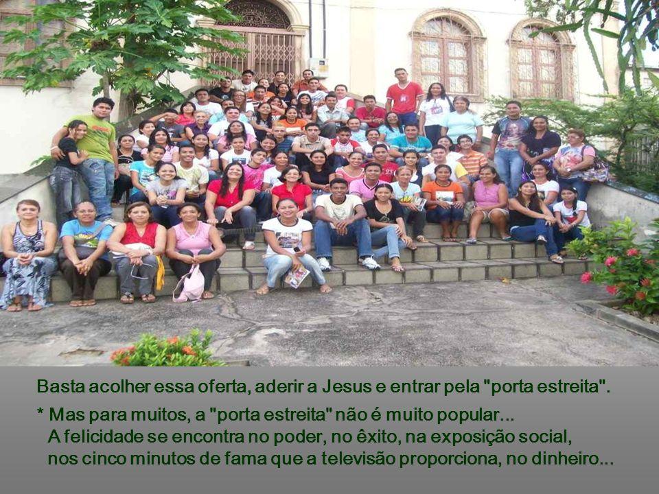 + A Salvação é oferecida para todos, independentemente de raça, de condição social, econômica ou religiosa... Deus oferece gratuitamente a Salvação, m