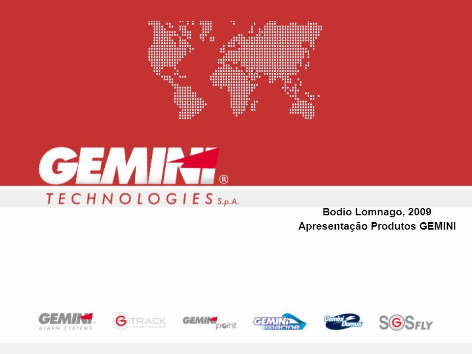 Bodio Lomnago, 2009 Apresentação Produtos GEMINI