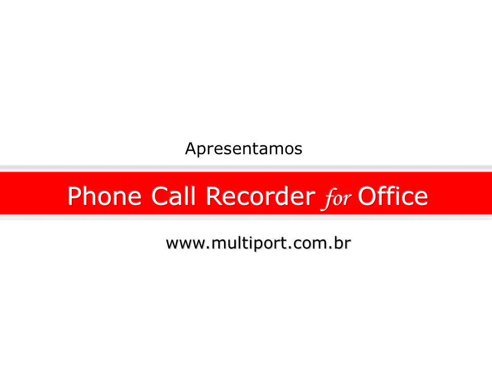 Apresentamos www.multiport.com.br