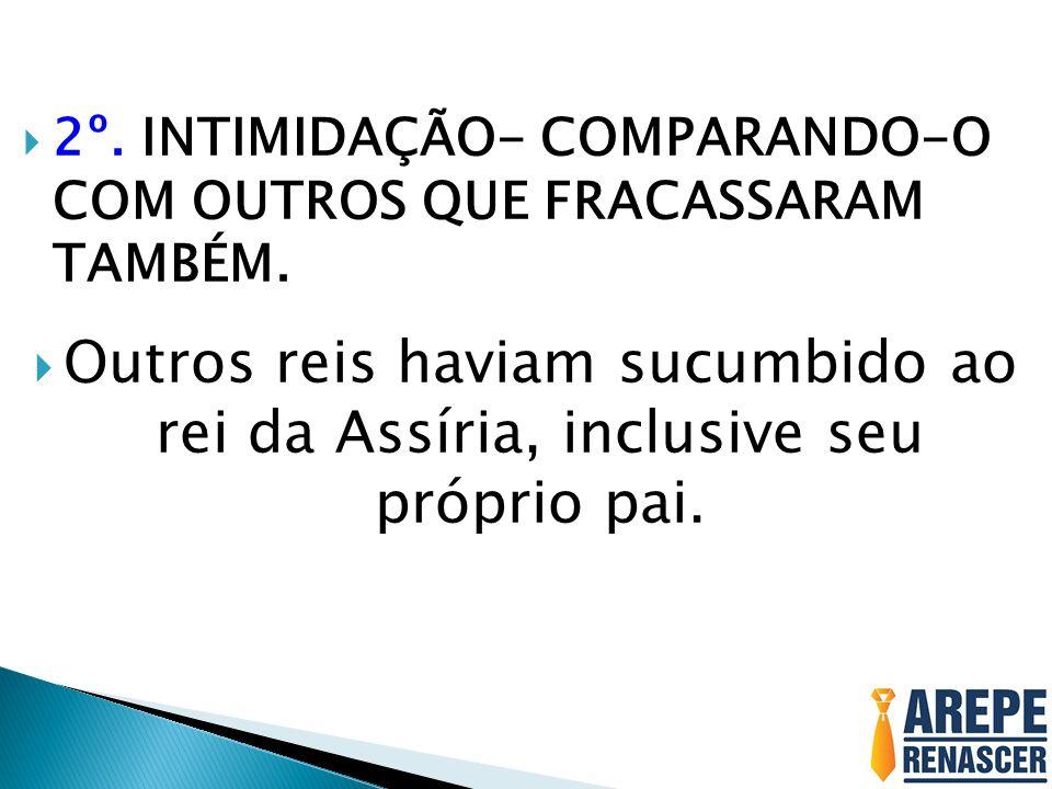 3º.O DESCRÉDITO – TIRANDO A CREDIBILIDADE DOS QUE ERAM COOPERADORES.